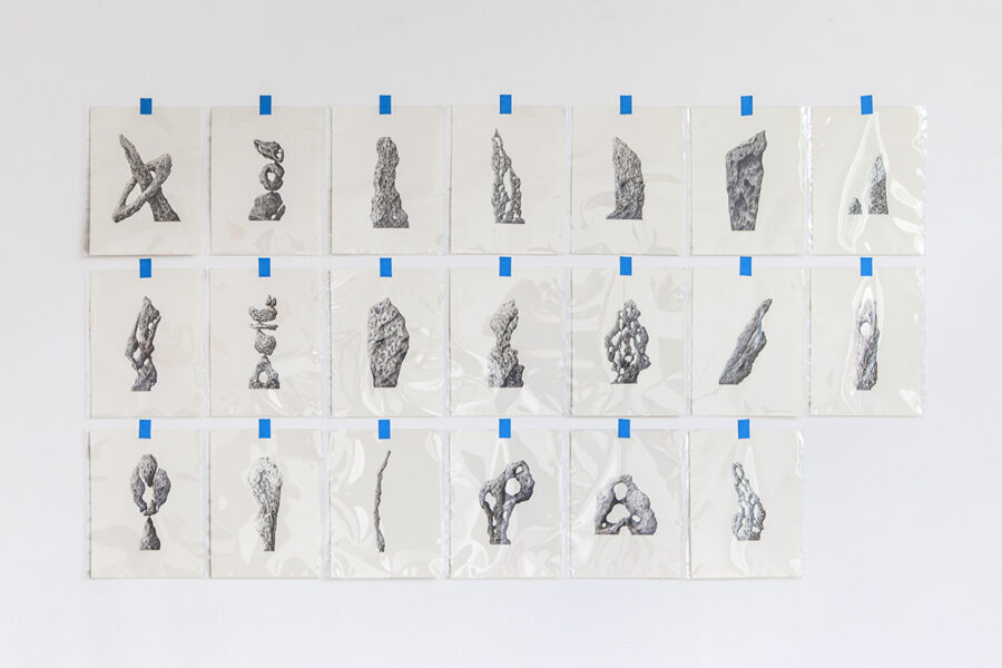 Twenty Imaginary Standing Stones