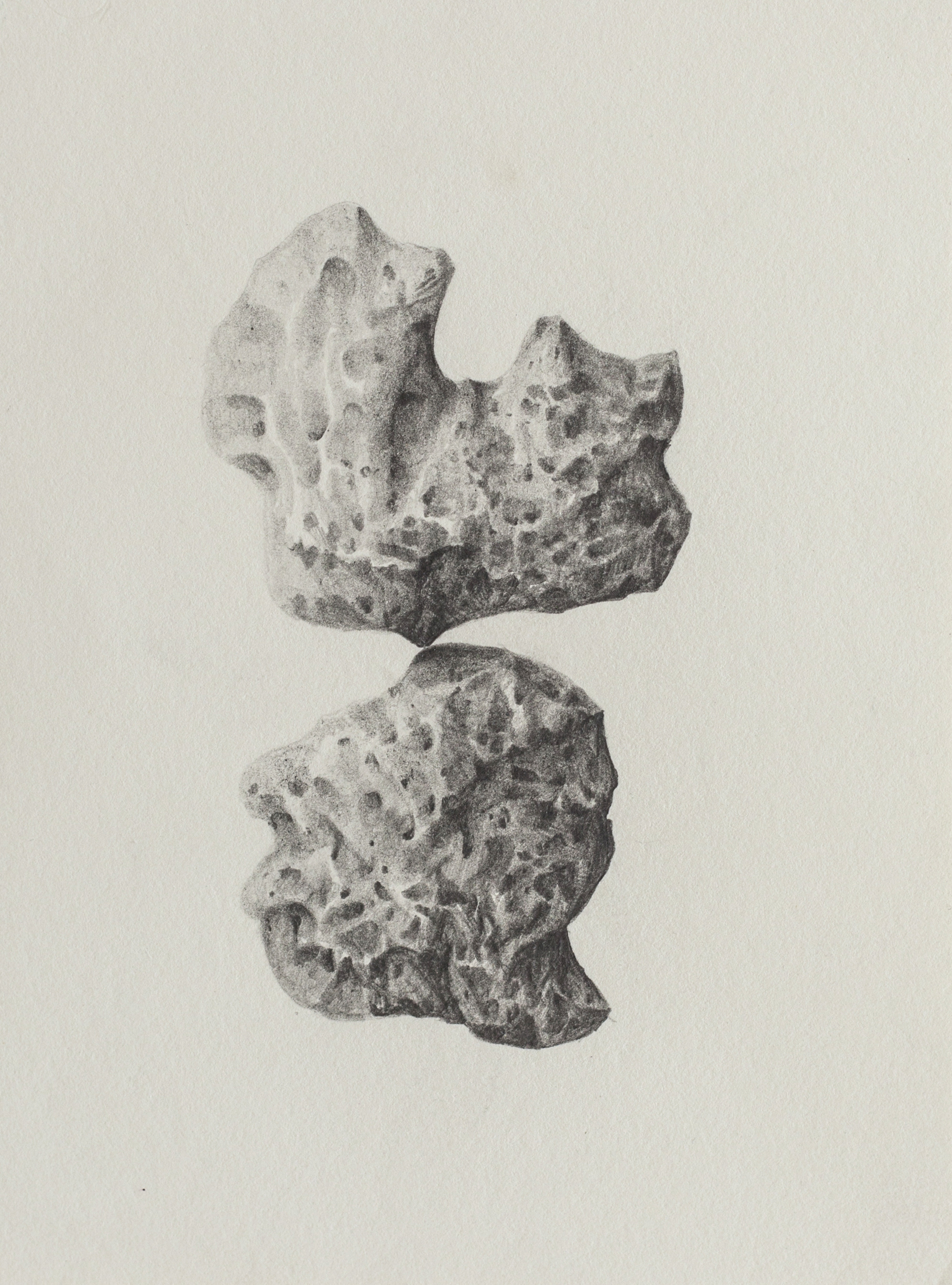 Untitled — Pencil on paper, 11 x 15 cm , 2016.